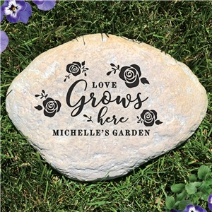 Personalized Garden Stone For Spring | Personalized Housewarming Gifts