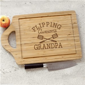 Personalized Flipping Awesome Cutting Board | Father's Day BBQ Gifts