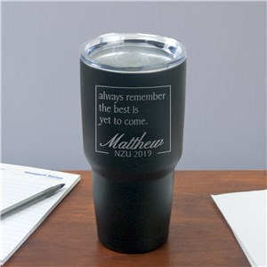 Engraved The Best Is Yet To Come Tumbler | Graduation Gifts