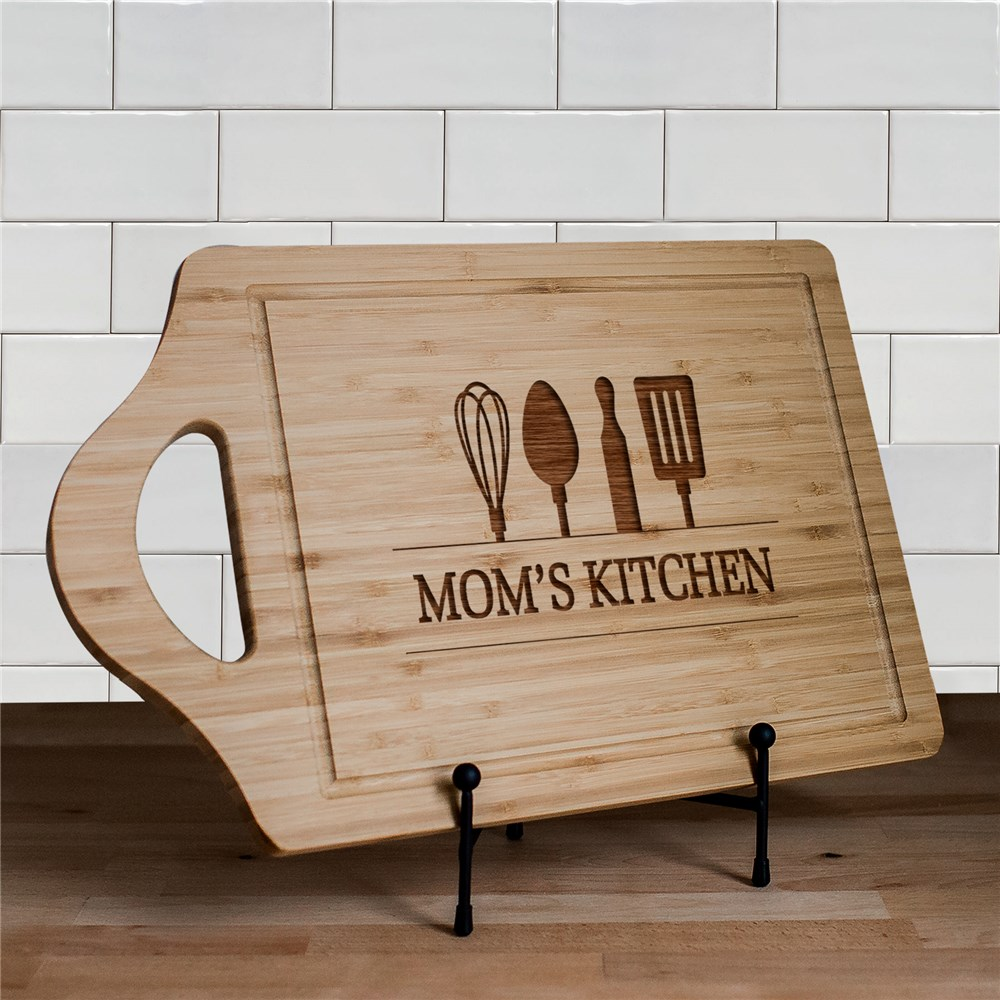 Engraved Utensils Cutting Board | Personalized Cutting Boards