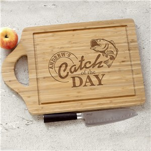 Engraved Catch of the Day Cutting Board | Personalized Cutting Boards