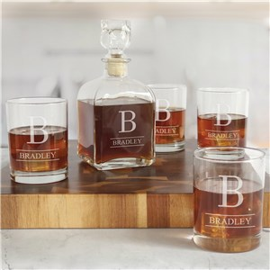 Personalized Decanter Set | Engraved Bar Gifts