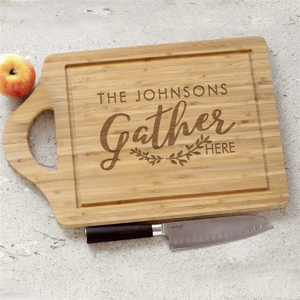Gather Personalized Decor | Engraved Cutting Boards