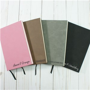 Personalized Create Your Own Leather Journal | Personalized Leather Journal