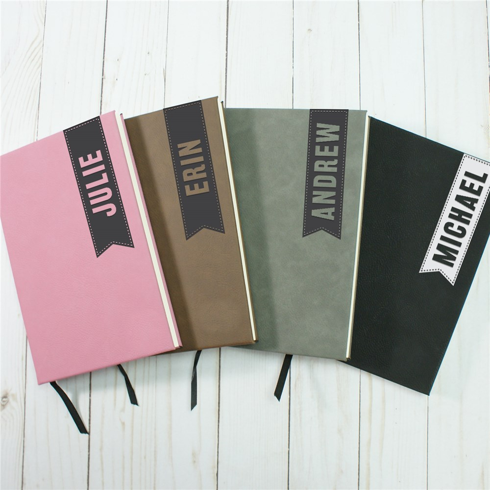 Bookmark Personalized Leather Journal | Leather Notebooks