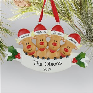 Family Christmas Ornaments | Reindeer Christmas Ornament