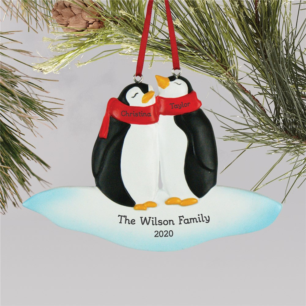 Family Christmas Ornaments | Penguin Christmas Ornament