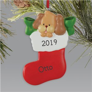 Personalized Puppy Ornament | Pet Christmas Ornaments