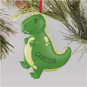 Personalized Dinosaur Ornament | Customized Kids Ornaments