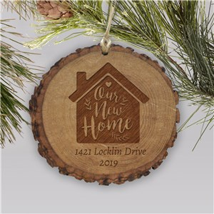 Personalized Our New Home Ornament | Home Ornament with Address