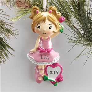 Personalized Dance Ornaments | Ballet Ornament With Name