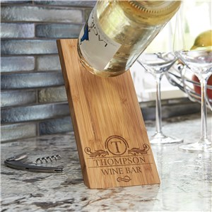 Personalized Wine Bottle Balancer | Wine Bottle Holders