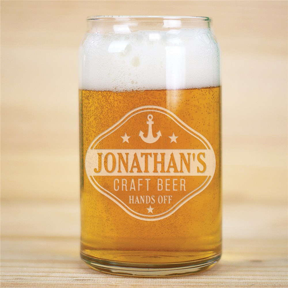 Craft Beer Gifts | Personalized Beer Glass