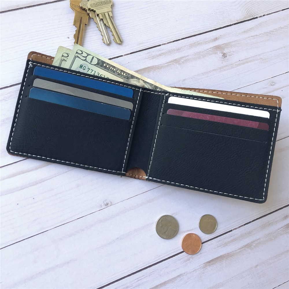Personalized Wallet | Monogrammed Wallet For Him