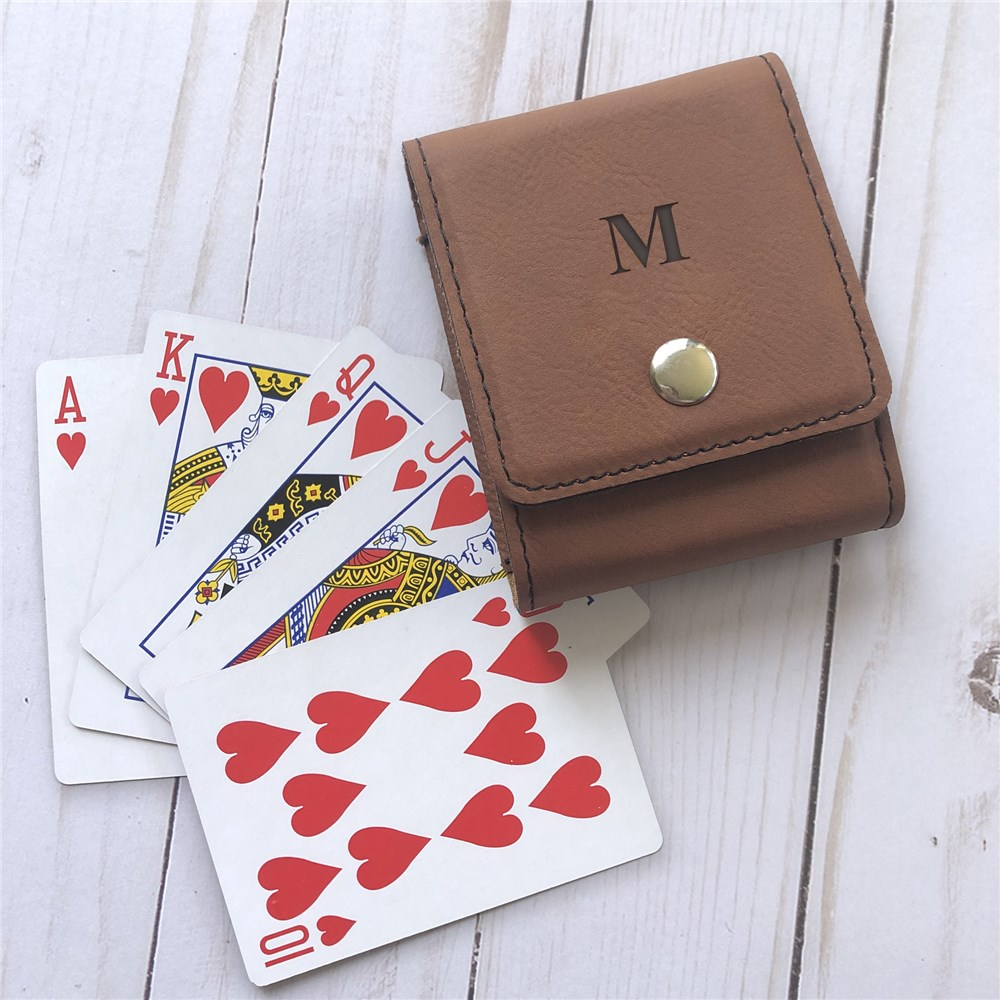 Playing Cards Case Set | Personalized Card Set