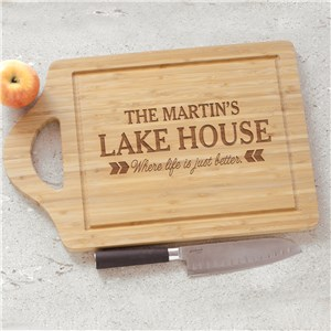 Engraved Cutting Board | Life Is Better Home Gifts