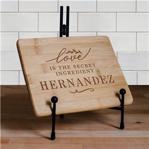 Engraved Cutting Board | Secret Ingredient Kitchen Decor