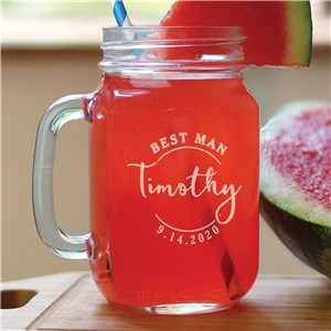 Engraved Mason Jar | Customized Mason Jars