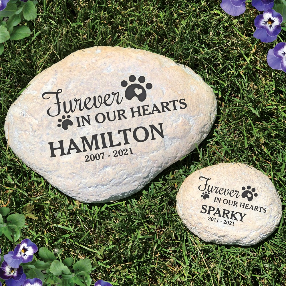 Furever In My Heart | Engraved Memorial For Pets