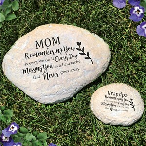 Personalized Garden Stones | Missing You Is Heartache Garden Stone
