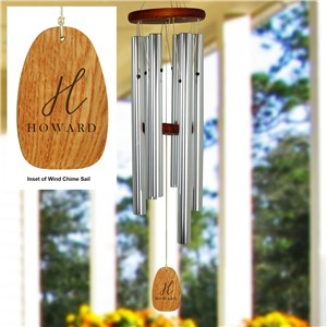 Engraved Wind Chime | Family Name Wind Chime