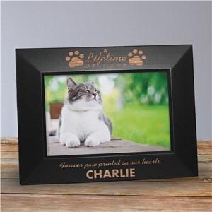 Customized Picture Frames | Engraved Pet Memorial Frame