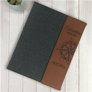 Personalized Padfolio | Adventure Personalized Notepad