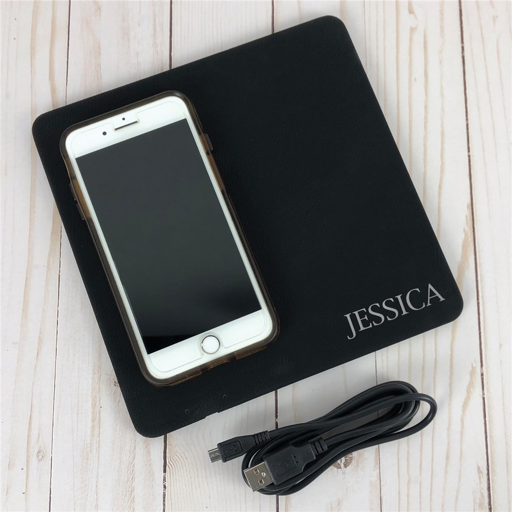 Personalized Wireless Charger | Phone Charger With Name