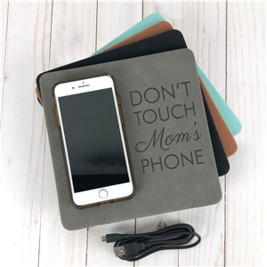 Personalized Wireless Phone Charger | Engraved Gifts For The Office