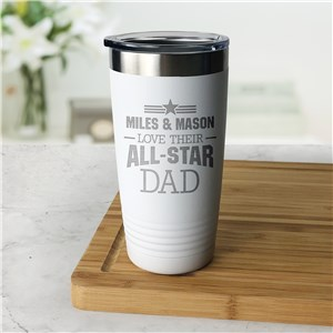 Engraved All Star Tumbler