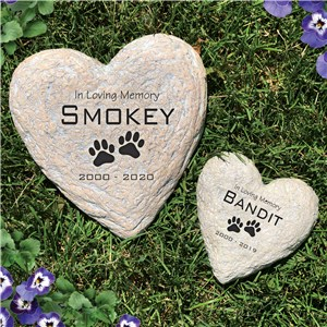 Engraved Pet Memorial Garden Stone | Sympathy Gift Ideas