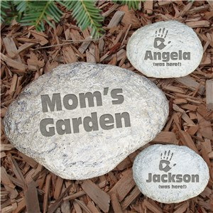 Engraved Family Garden Stone | Personalized Mother's Day Gifts