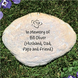 Engraved Any Message Memorial Stone | Memorial Ideas