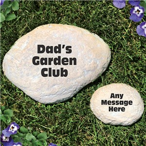 Engraved Any Message Garden Stone | Personalized Stones