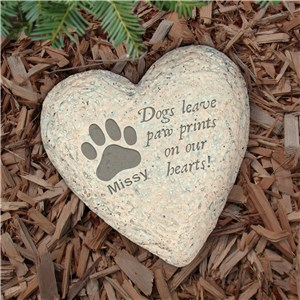Engraved Dog Memorial Garden Stone | Memorials Stones