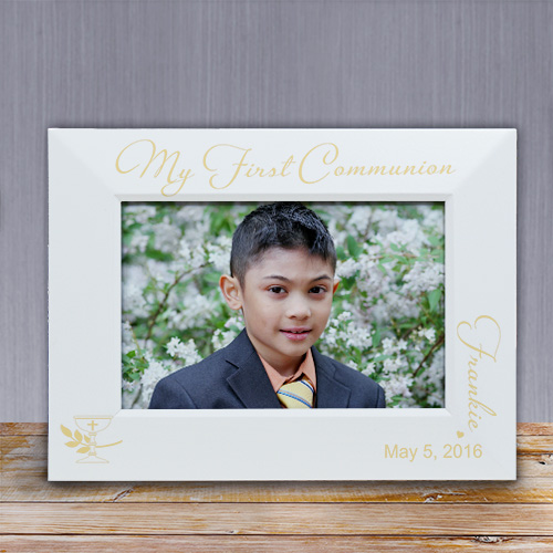 Engraved My First Communion Picture Frame L654016X