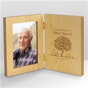 In Loving Memory Personalized Wood Frame | Personalized Picture Frames