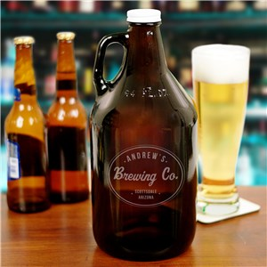 Personalized Beer Growler | Fathers Day Gifts