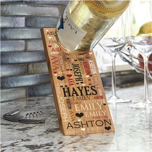 Housewarming Wine Bottle Holder | Personalized Wine Bottle Holder