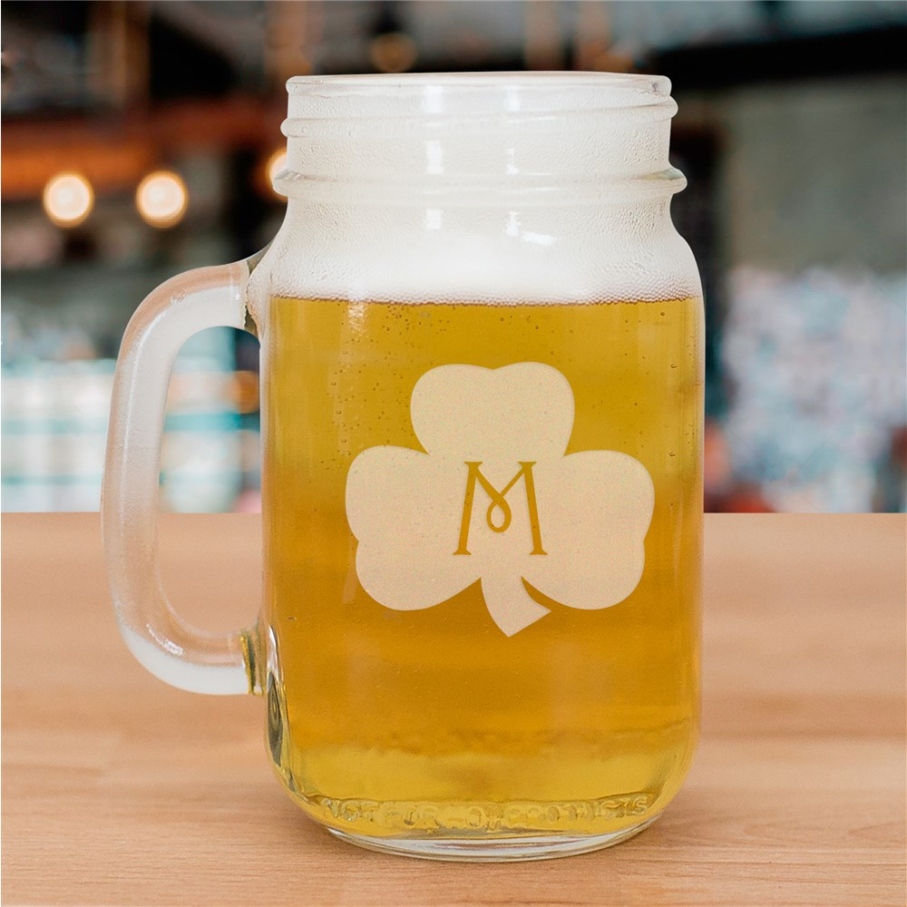 Mason Jar for the Irish | Personalized Drinking Glass
