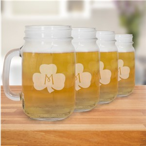 Mason Jar Set for the Irish | Irish Drinking Glasses