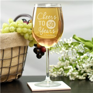 Birthday Wine Glass L9429X