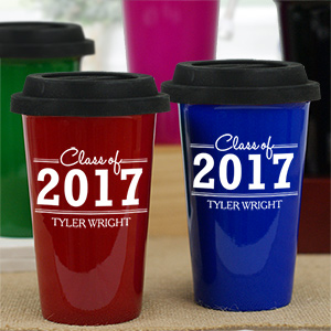 Personalized Graduation Travel Mug L9444139