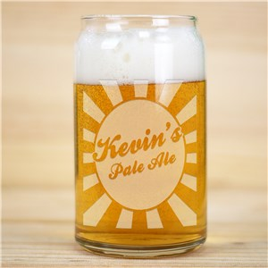 Personalized Beer Glass | Personalized Barware