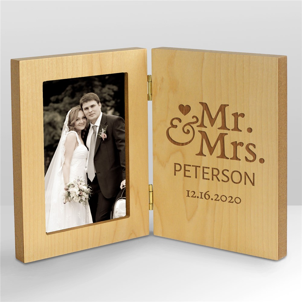 Mr. and Mrs. Personalized Frame | Personalized Picture Frames