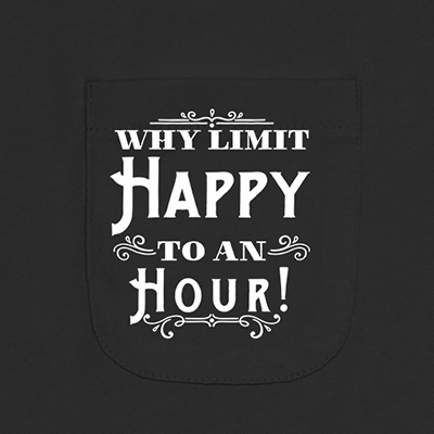 Why Limit Happy To An Hour Pocket T-Shirt PT311311X