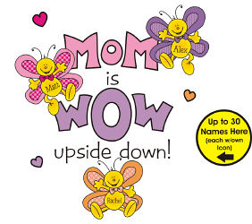 Mom is Wow Sweatshirt