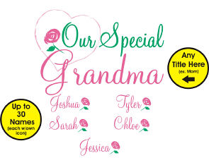 Our Special Person Customized Apron | Personalized Aprons