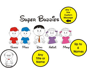 Personalized Super Buddies T-Shirt | Personalized T-shirts