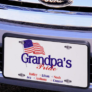 USA Pride License Plate